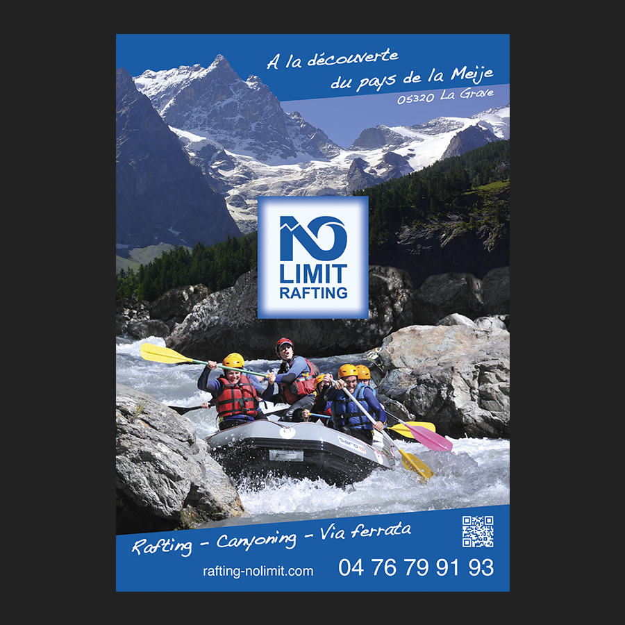 Affiche No Limit Rafting
