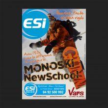 Affiche ESI Monoski