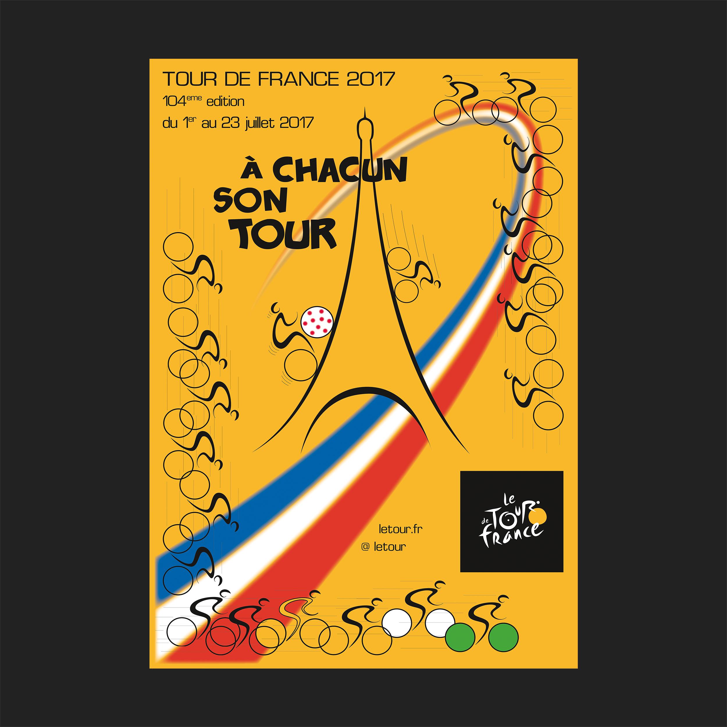 Affiche  TOUR 2017