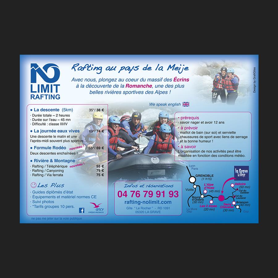 Verso Flyer No Limit