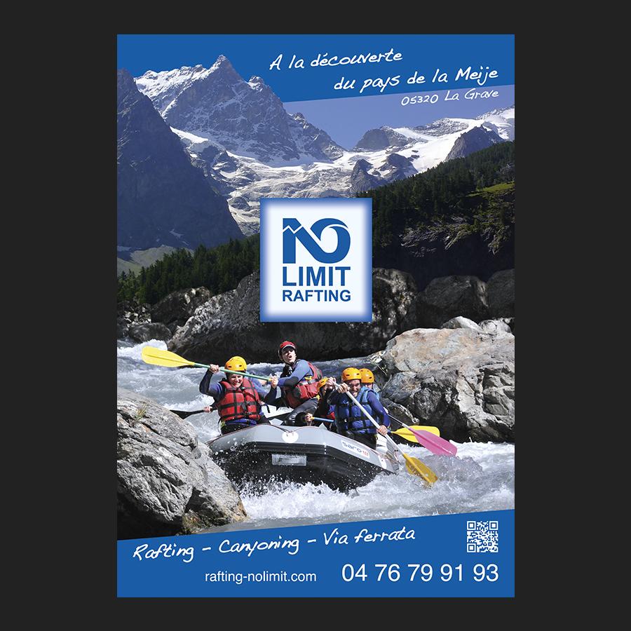 Affiche No Limit Rafting