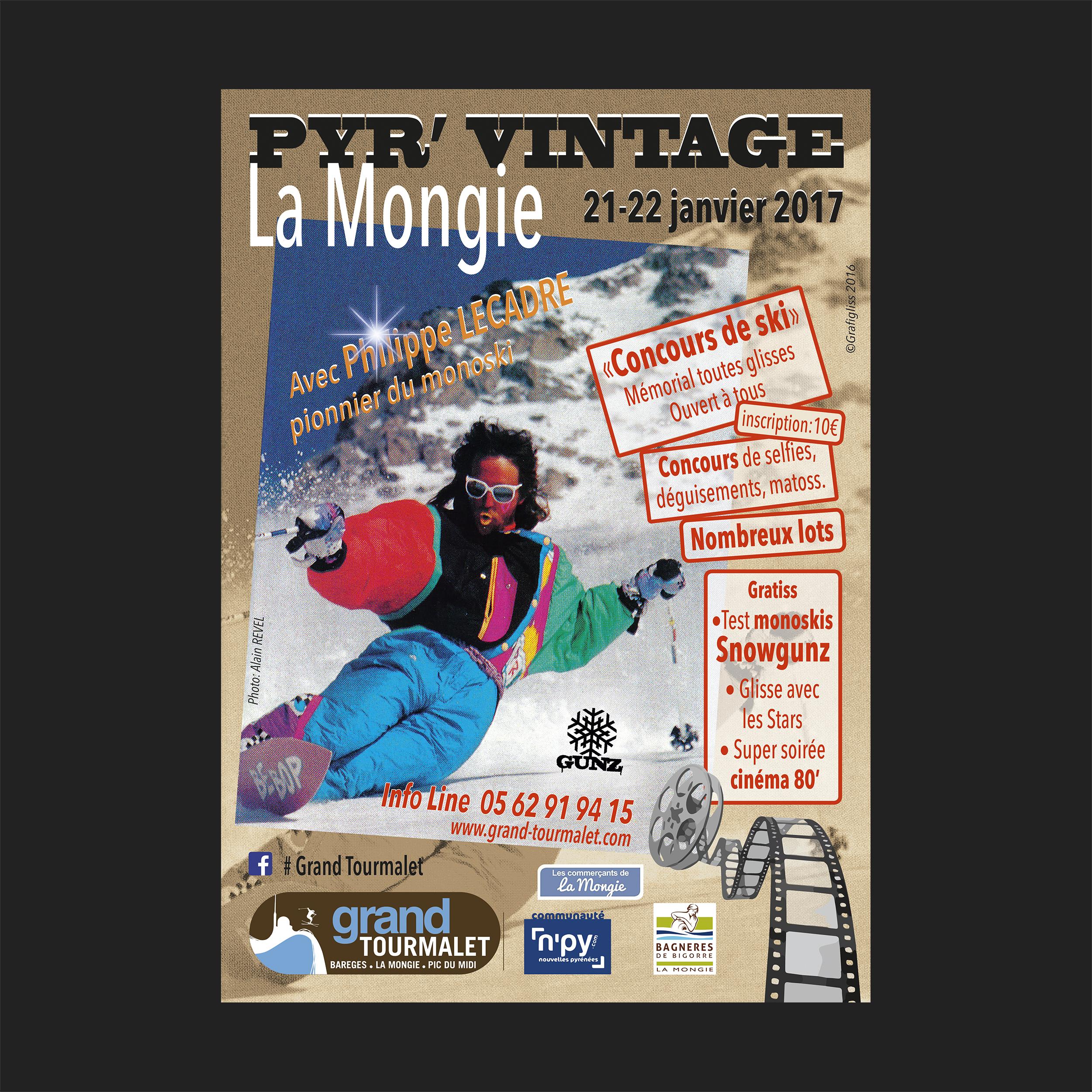 Affiche Pyr'Vintage