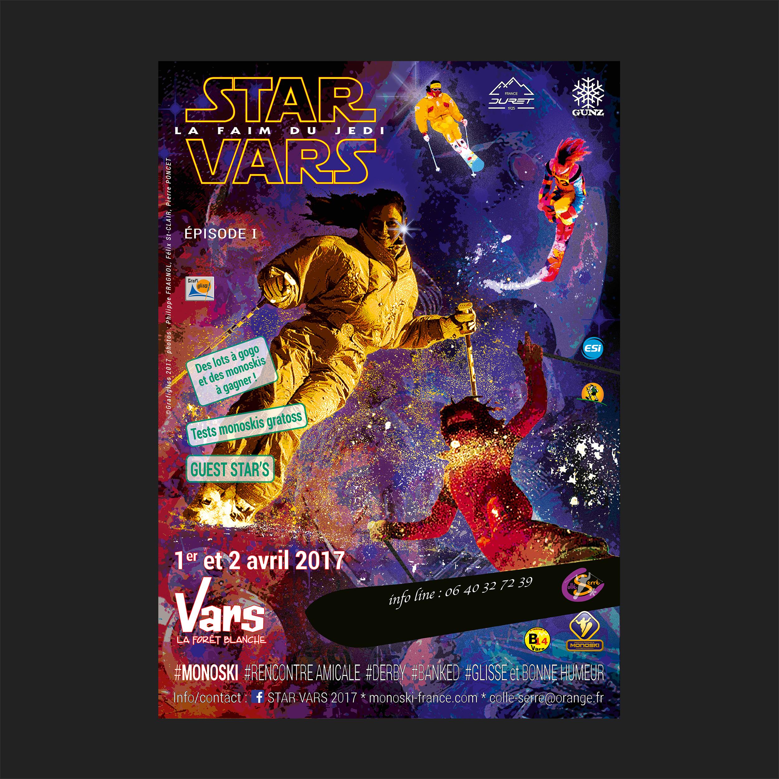 Affiche STARVARS 2017