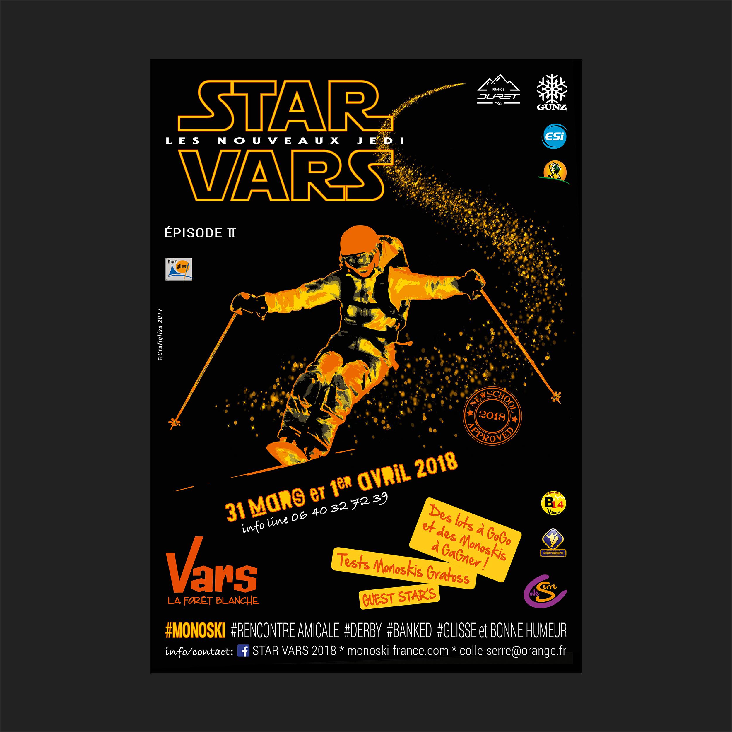 Affiche STAR VARS 2